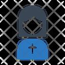 Sister Catholic Christian Icon