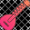Sitar Banjo Musical Instrument Icon