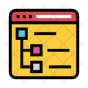 Webpage Internet Window Icon