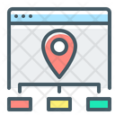 Site Map Website Navigation Icon