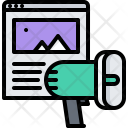 Site Page Megaphone Icon