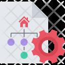 Site Structure Optimization Icon
