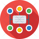 Networking Workflow Sitemap Icon