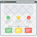 Site Map Seo Strategy Icon