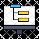 Sitemap Diagram Flowchart Icon