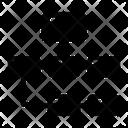 Hierarchy Algorithm Data Flow Icon