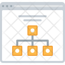 Structure Hierarchy Web Icon
