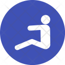 Sitting Human Activitiy Icon