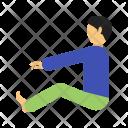 Sitting Human Activity Icon
