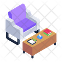 Workplace Workspace Sitting Area Icon
