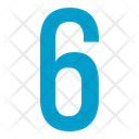 Six Numbers Icon