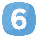 Six 6 Number Icon