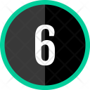 Six Number Count Icon
