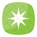 Six-Pointed Asterisk Icon