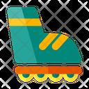 Skate Inline Sport Icon