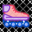 Skateboard Extreme Sport Icon
