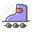 Skate Roller Rolling Icon