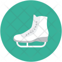 Skate Ski Ice Icon