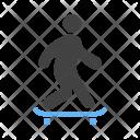 Skate Boarding Skateboard Icon