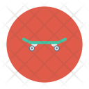 Skate Board Game Icon