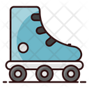 Roller Skates Skating Shoe Skate Boots Icon