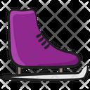 Skate Shoe Ice Skates Skating Sports Icon