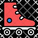 Skate Shoe Roller Skates Skating Sports Icon