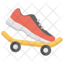 Skate Shoes Skating Icon