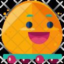 Skateboard Emoji Face Icon