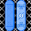 Skateboard Sport Equipment Icon