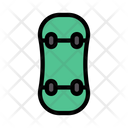 Skateboard Play Sport Icon