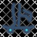 Skateboard Play Skate Icon