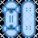 Skateboard Deck Board Icon