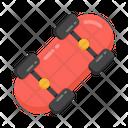 Wheel Board Skateboard Sports Equipment Icon