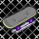 Skateboard Sport Game Icon