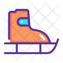Skateboard Skate Skating Icon