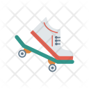 Skateboard Board Shoes Icon