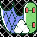 Fishing Net Recycle Icon