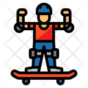 Skateboard Guard Protective Guard Icon
