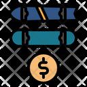 Skateboard Price Skateboard Skates Icon