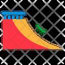 Skateboard Ramp Skateboard Ramp Icon