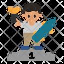 Skateboard Winner Icon