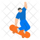 Skateboarding Skating Skate Icon