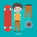 Skater Sport Awards Icon