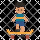 Skater Boy Sports Icon