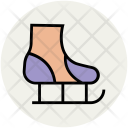 Skates Ice Skating Icon