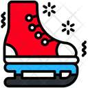 Skates Winter Sports Icon