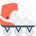 Skates Shoes Roller Icon