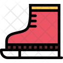 Skates Christmas Holidays Icon