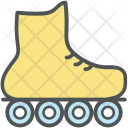 Skating Shoe Roller Icon